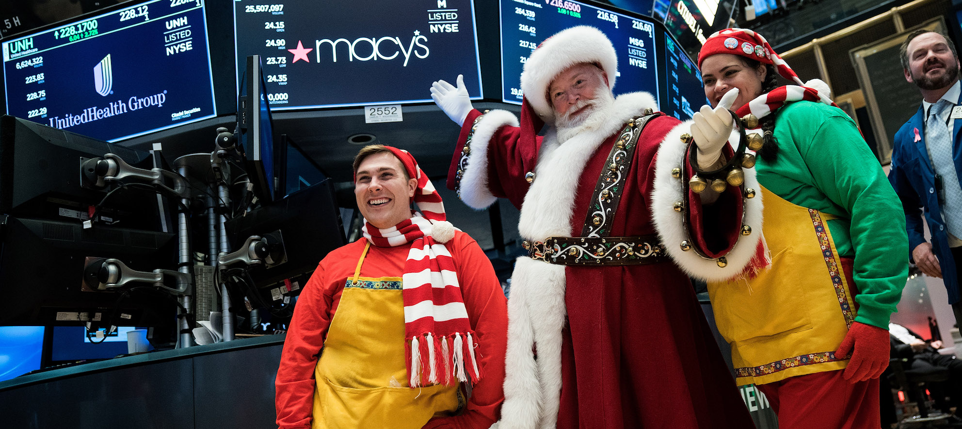 Watch out for your uncle's drunken holiday antics, but the economy is booming