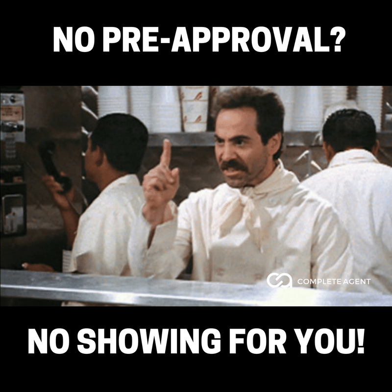 Soup Nazi No PreApproval No Showing For You
