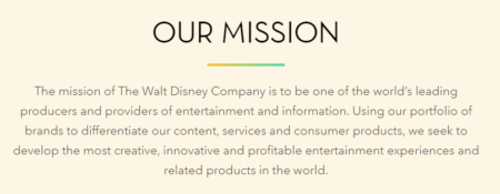 How New Agents Can Create The Perfect Mission Vision And Values Disneys Statement