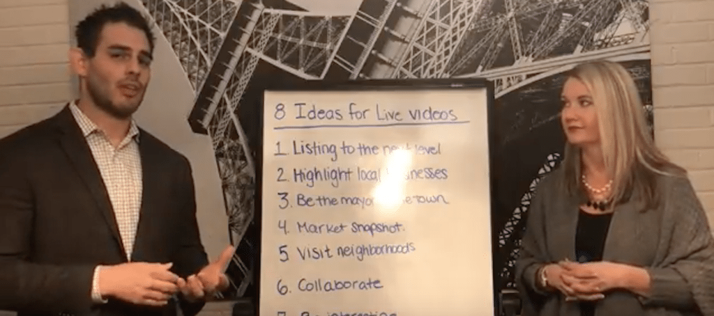 live video ideas, real estate