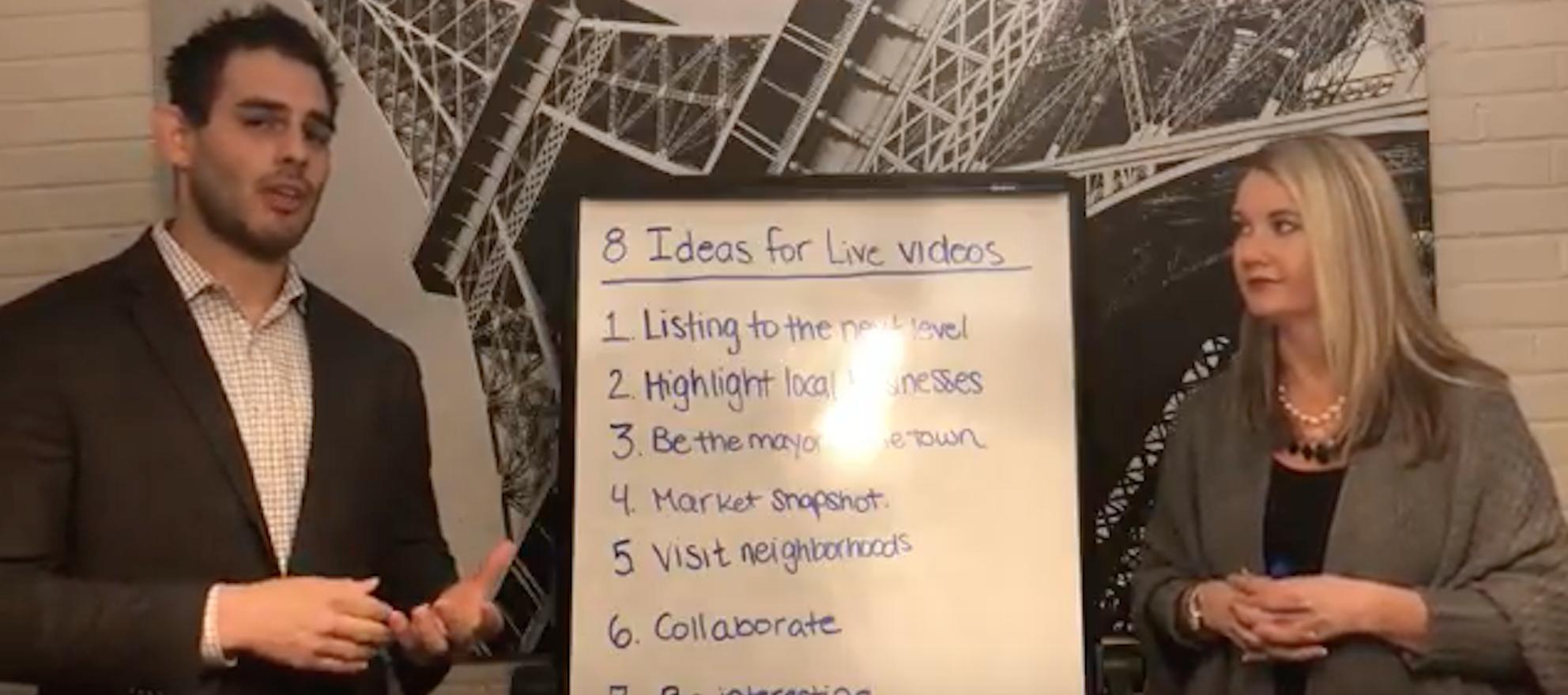 live video ideas, real estate
