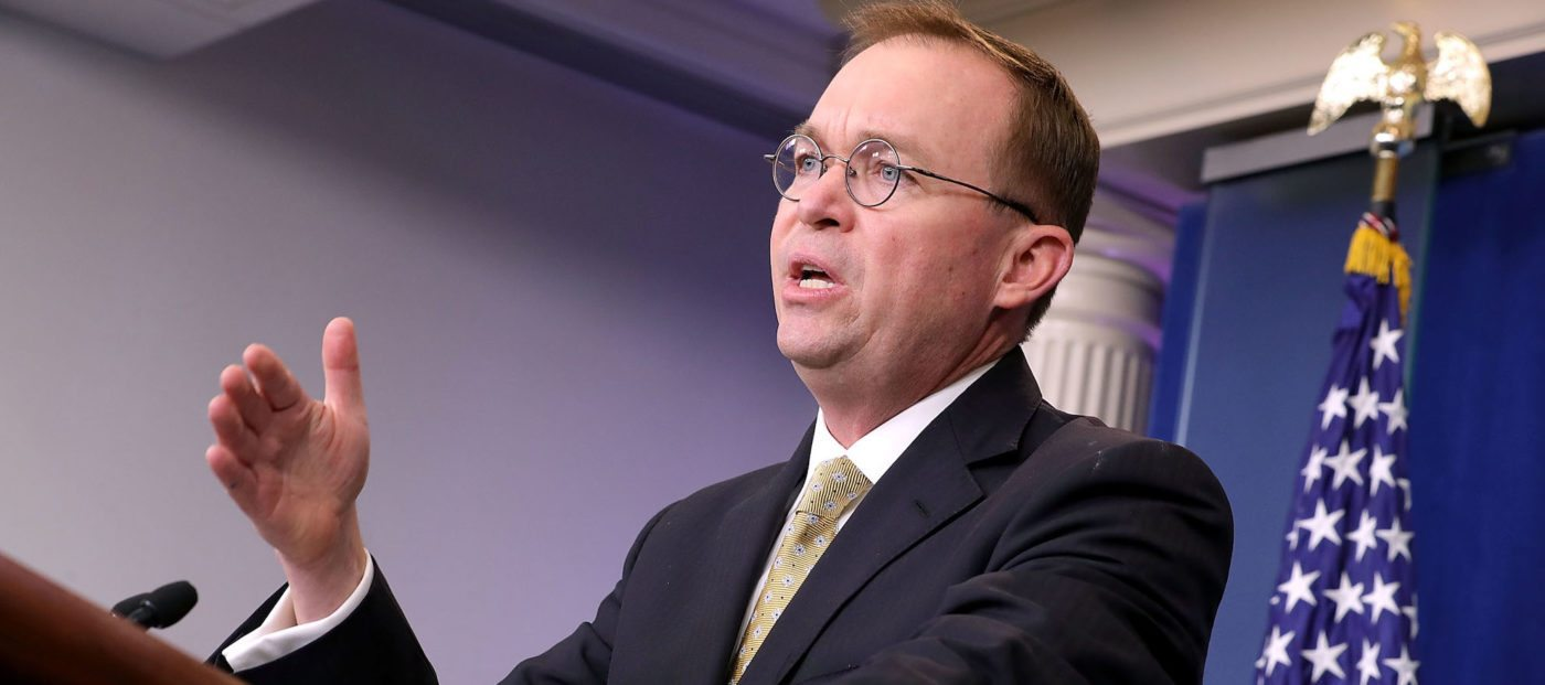 Mulvaney revokes powers of CFPB's fair lending office