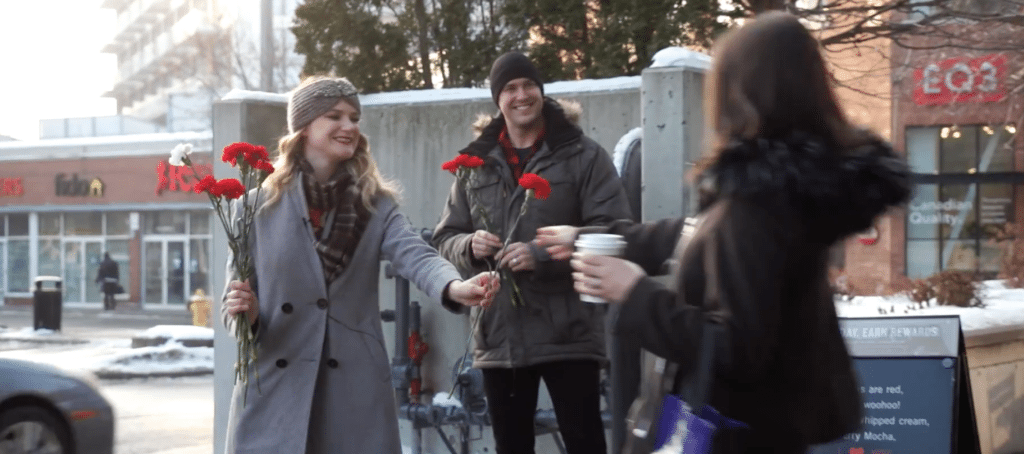 Parkbench, random acts of kindness