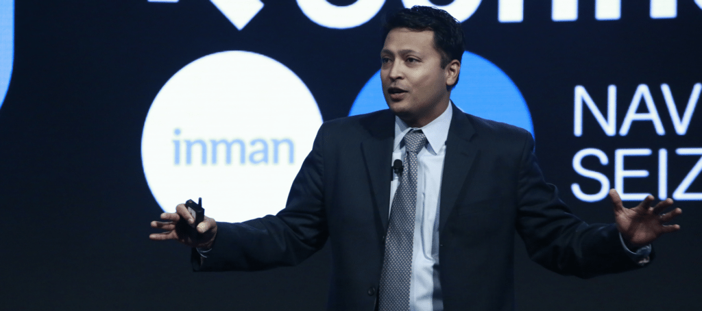 inman connect new york 2018 Sharran Srivatsaa
