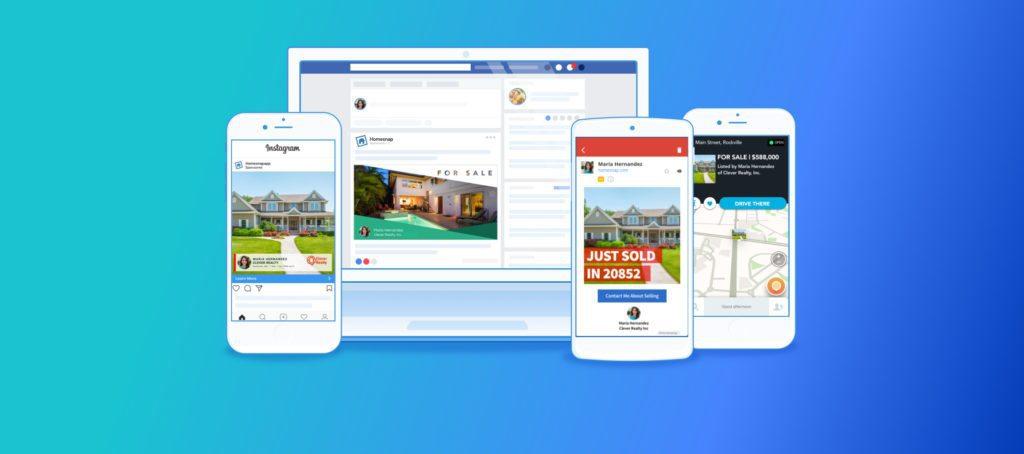 digital marketing Homesnap Pro