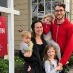 Natan Kuchar and his family