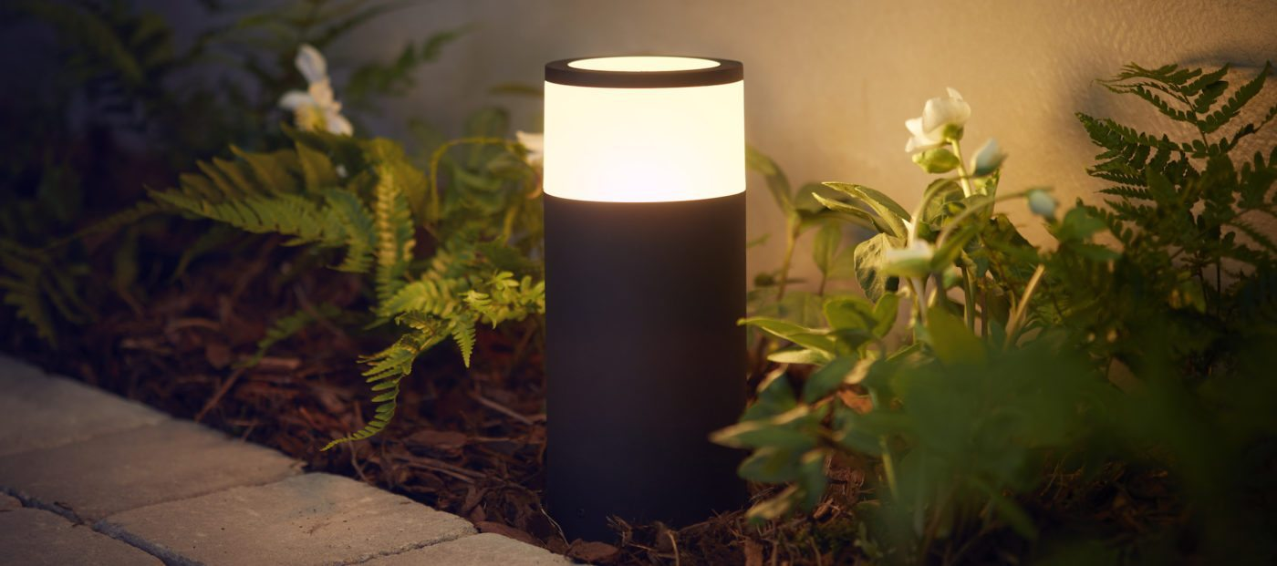 Philips debuts first outdoor Hue smart lights
