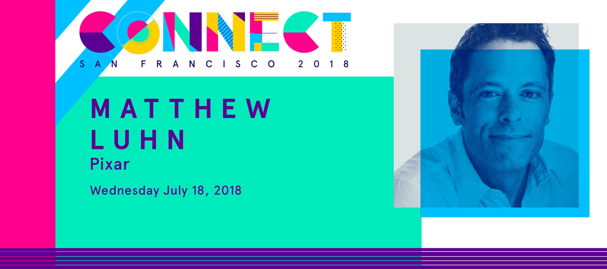 Connect The ICSF Speakers: Pixar's Matthew Luhn on leadership lessons from stories