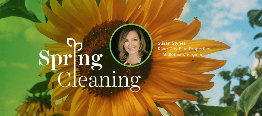 Spring Forward, Susan Stynes, Spring cleaning