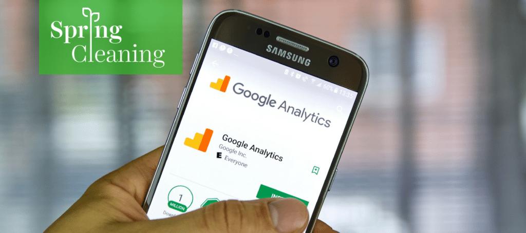 google analytics, real estate website