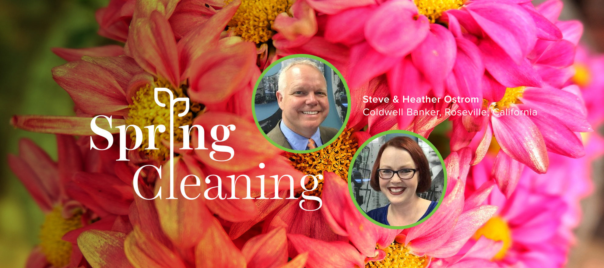 spring cleaning, spring forward, heather ostrom, steve ostrom
