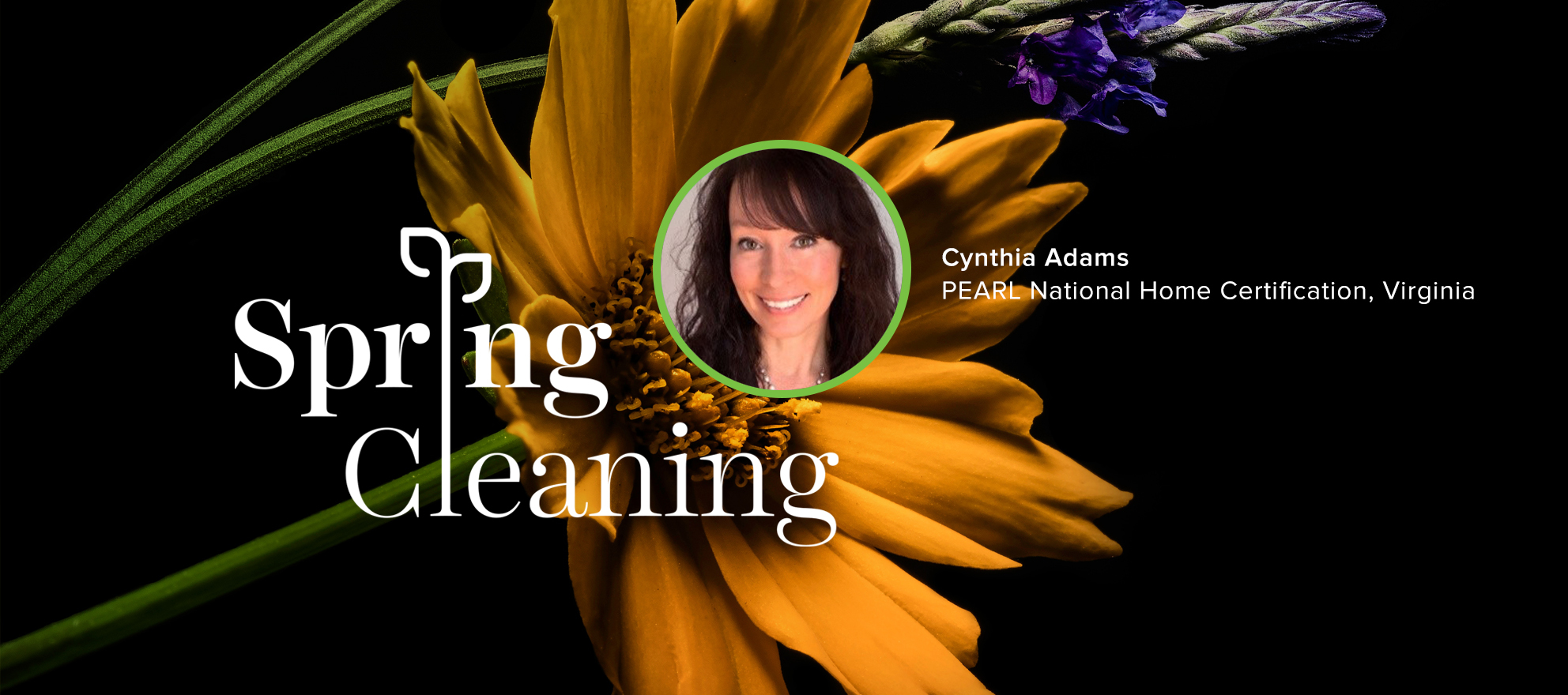 cynthia adams, pearl partners, spring cleaning, spring forward