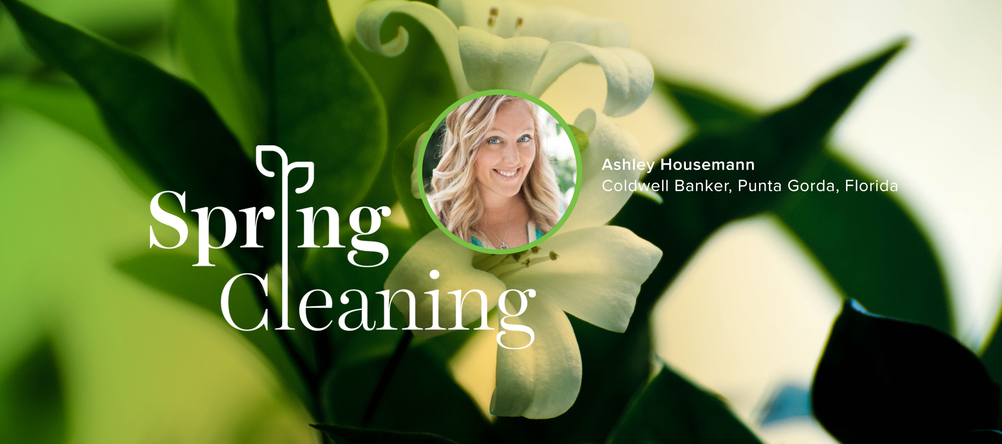 "Spring Forward: Ashley Houseman: ""Conversations lead to Contracts"""