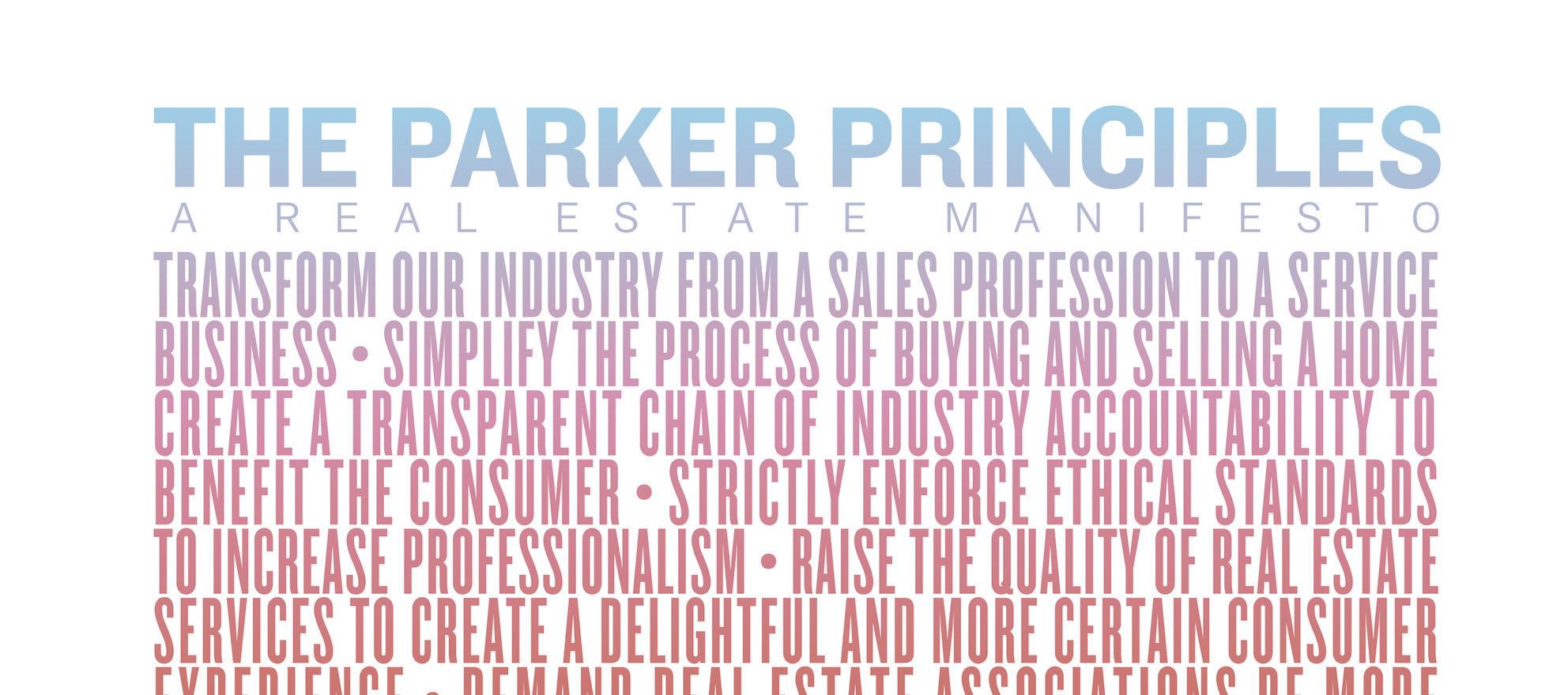 Parker Principles, Inman, Poster