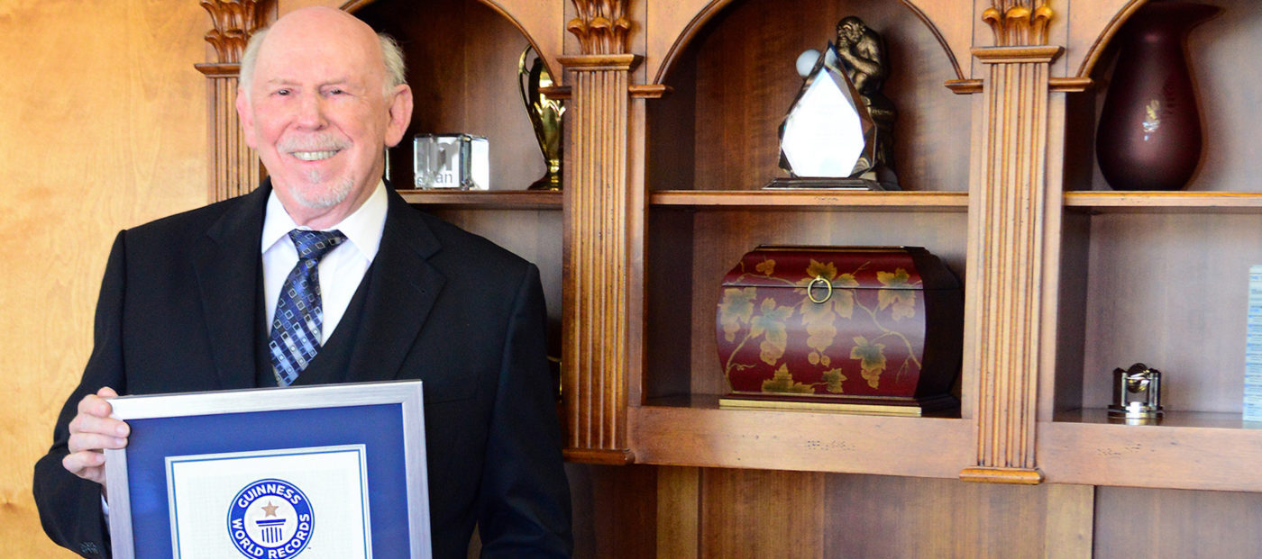 The first Guinness World Record-setting real estate agent is ...