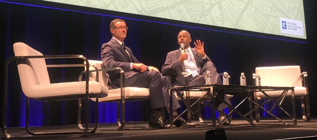 Ben Carson takes aim at emotional support animals at NAR conference