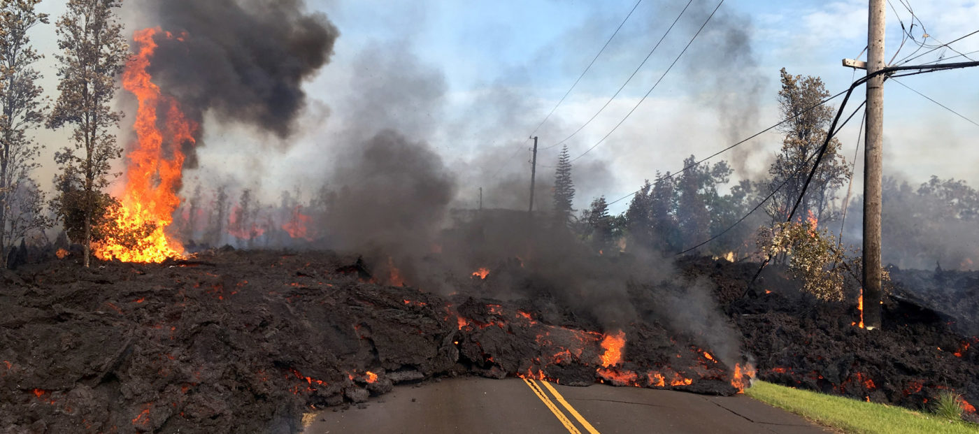 hawaii volcano destruction