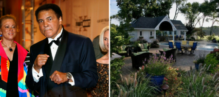 Muhammad Ali's Michigan estate just hit the market — and the price is a nod to the sports legend