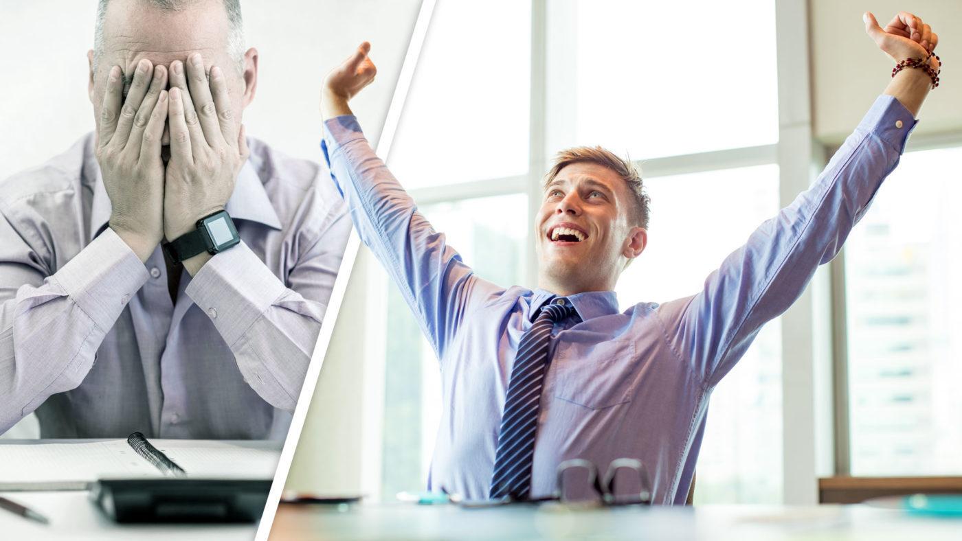 control attitude produce massive results