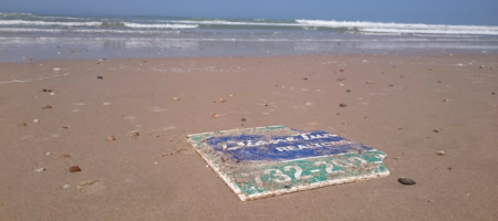 NJ brokerage sign found on French beach 6 years after Hurricane Sandy