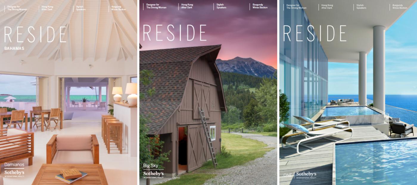 Sotheby's international realty, luxury magazine