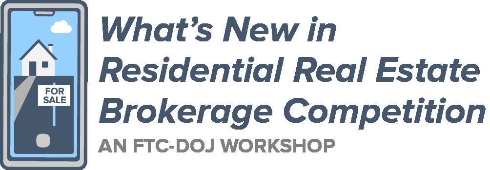 FTC DOJ workshop logo