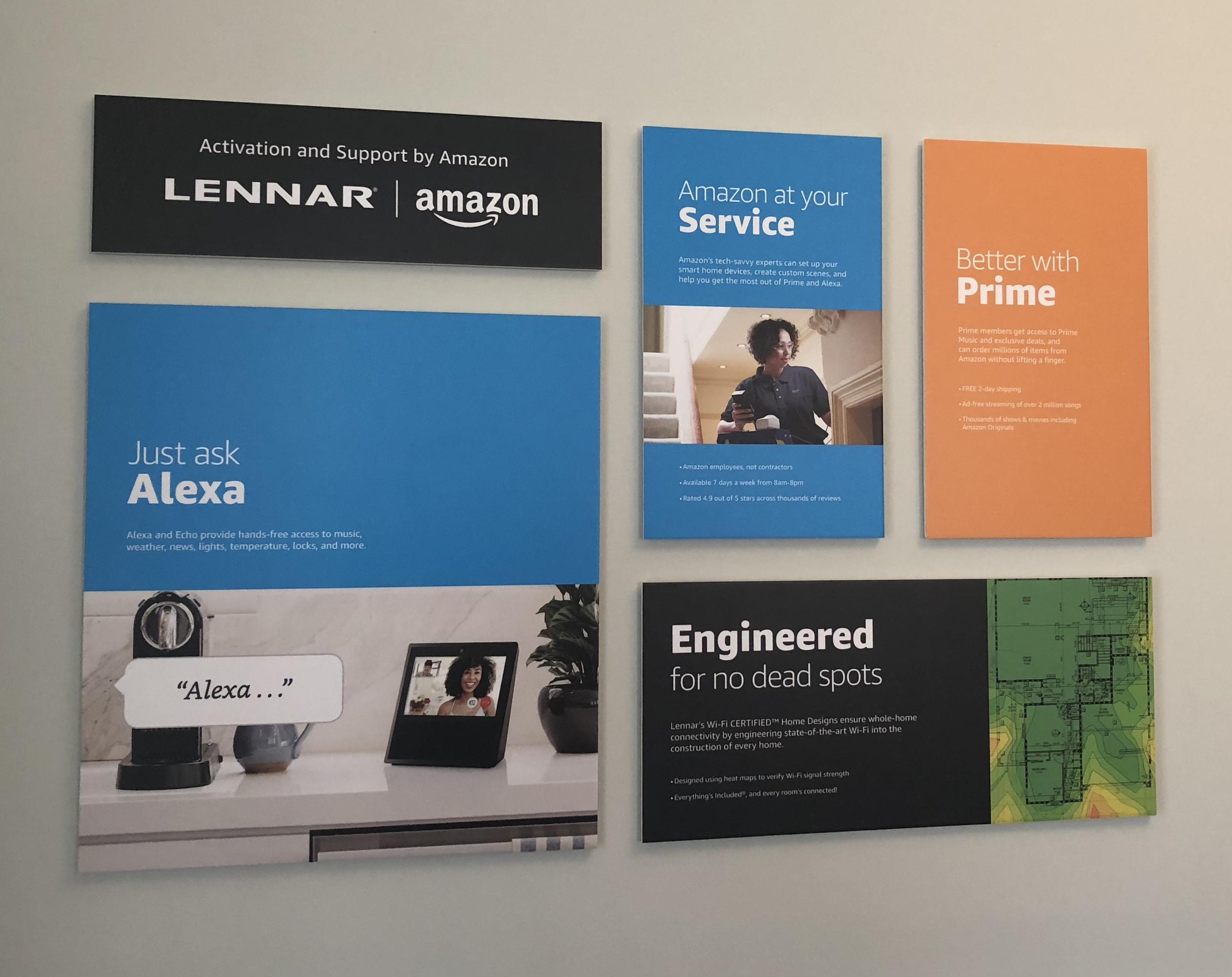 Lennar Amazon signs