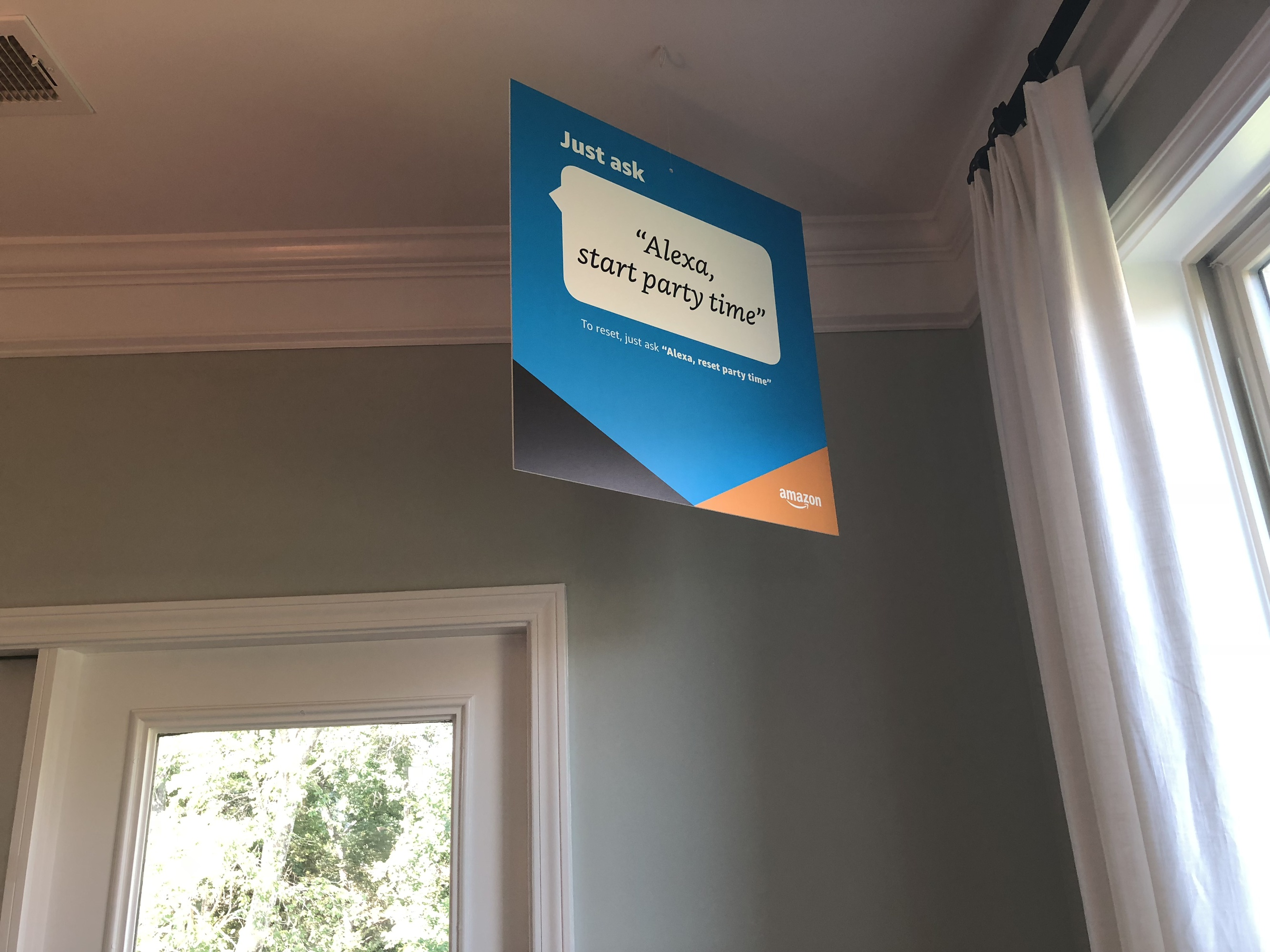 Lennar Amazon party time sign