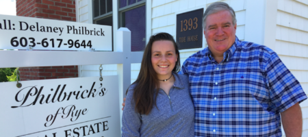 Meet New Hampshire's new teen real estate agent