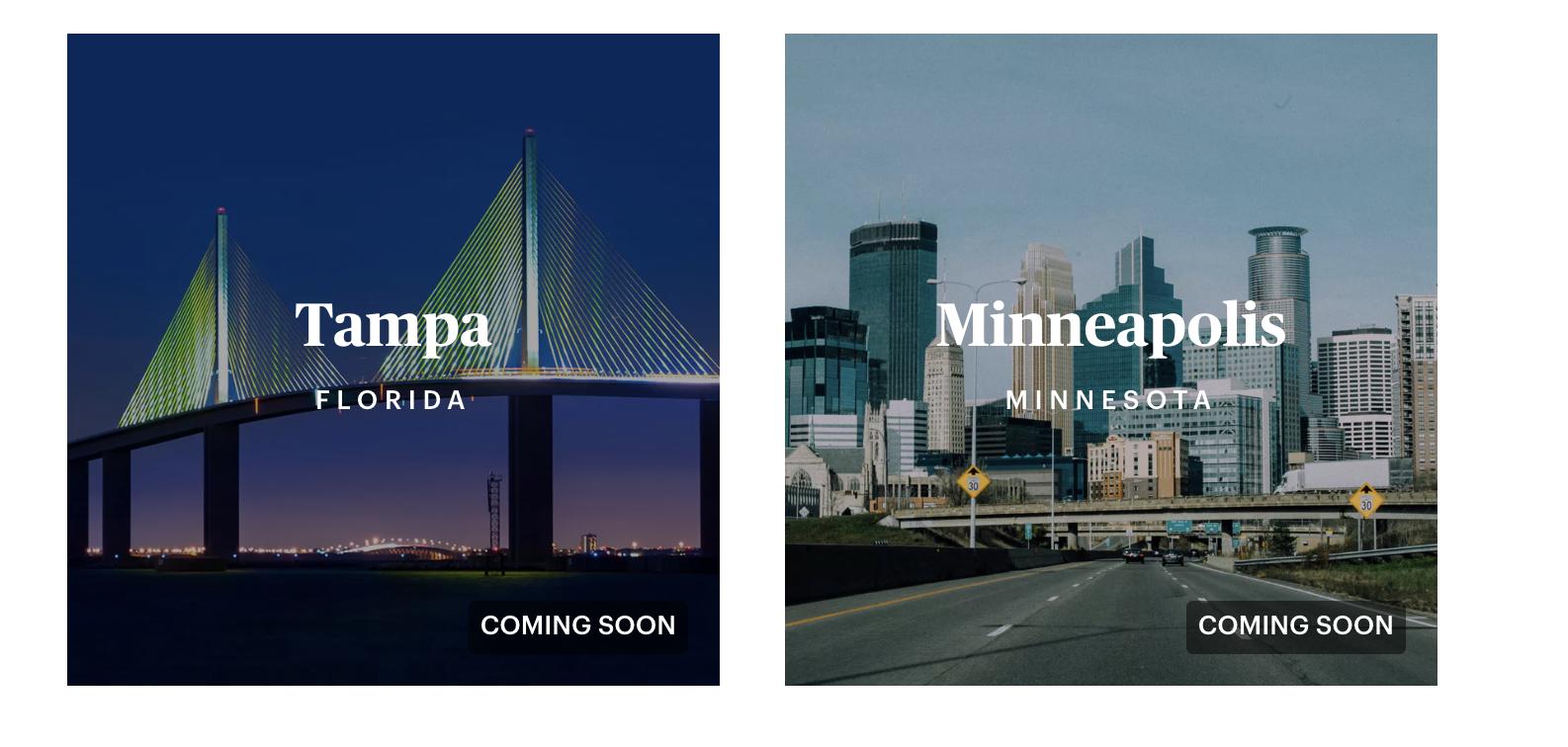 Opendoor Minneapolis Tampa