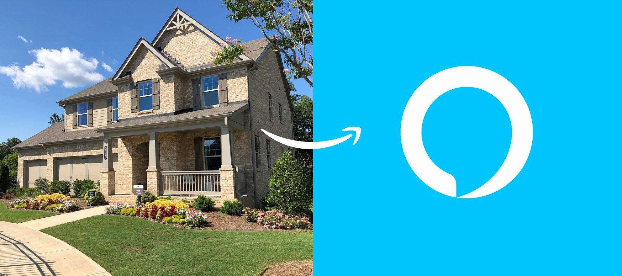 Lennar's amazon smart home