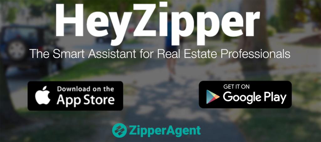 HeyZipper Smart Assistant Real Estate Professionals