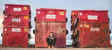 Is a dumpster an indication of a home about to come to market?