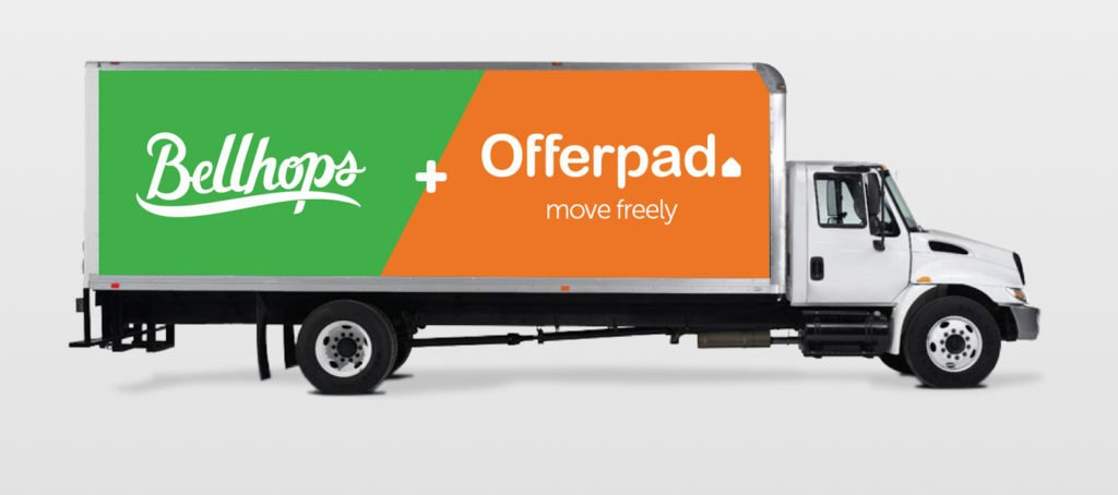 Offerpad partners with Bellhops, offers free moving services to sellers