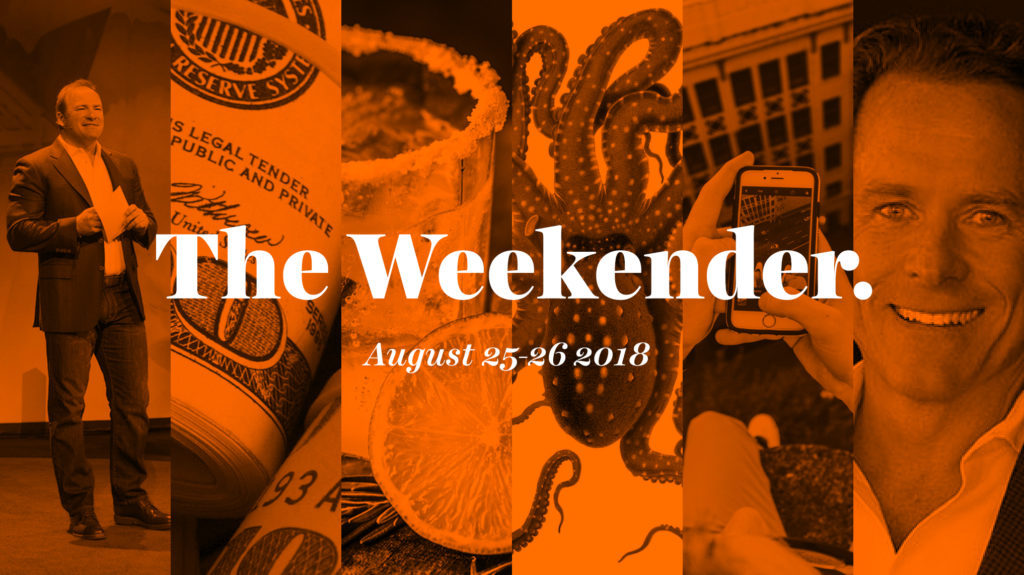 The Inman Weekender, August 25-26, 2018