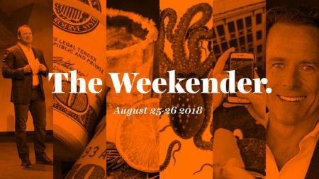 The Inman Weekender, August 25-26, 2018