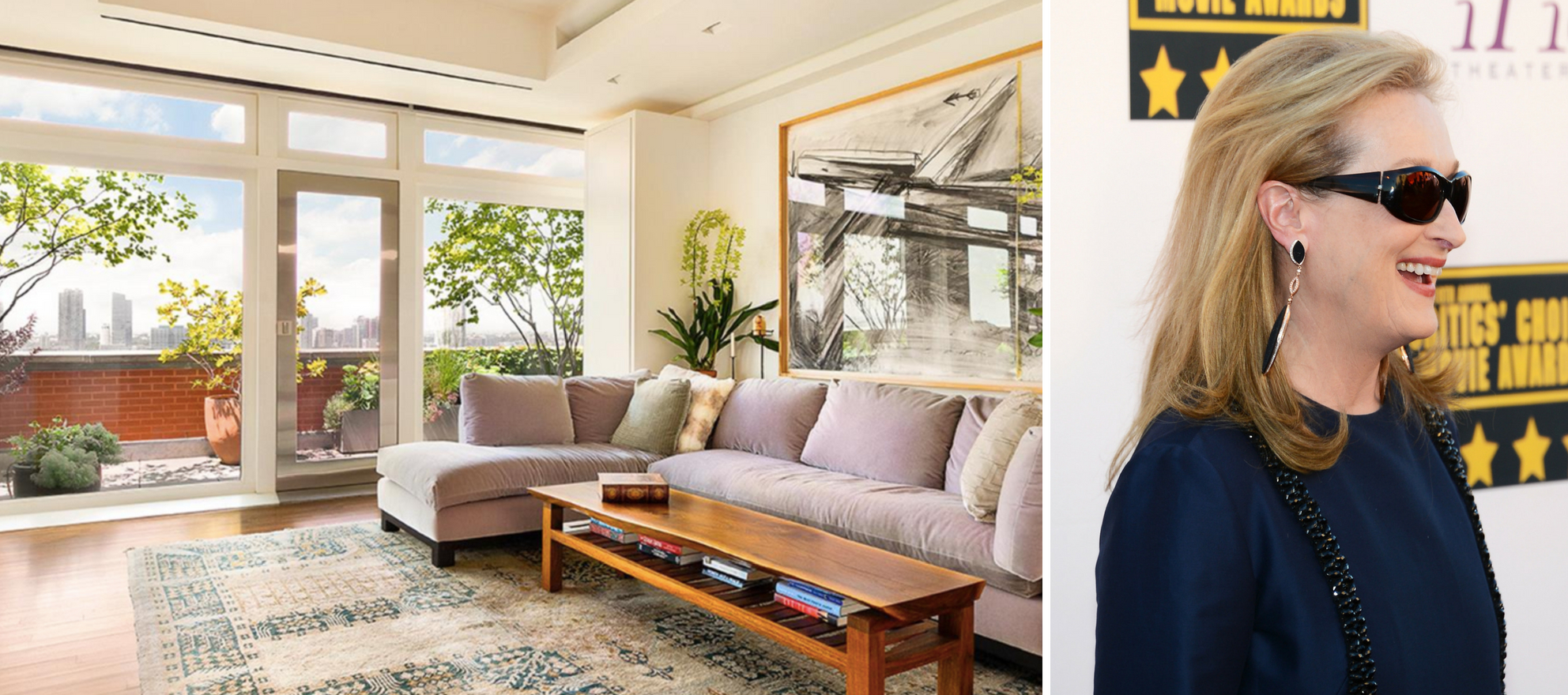Buy Meryl Streep's garden-style Tribeca penthouse for $24.6M