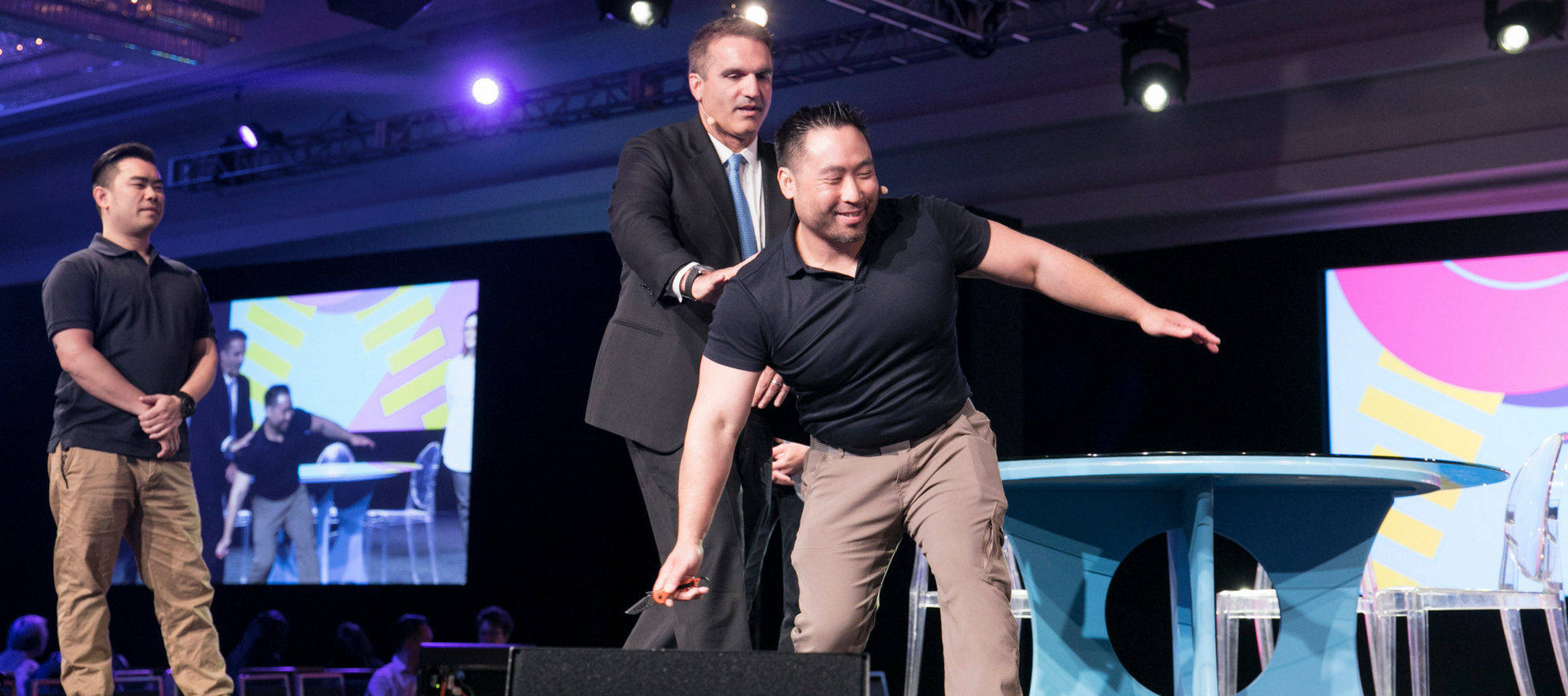 ICSF 18, self-defense