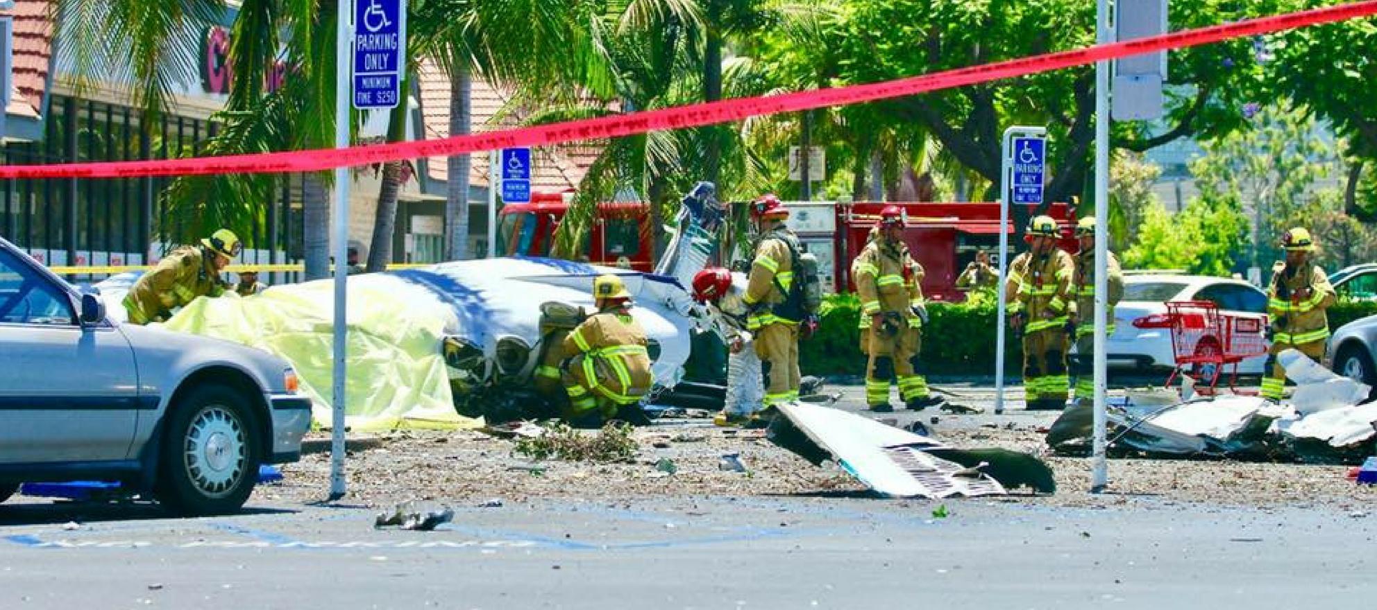 Pacific Union plane crash