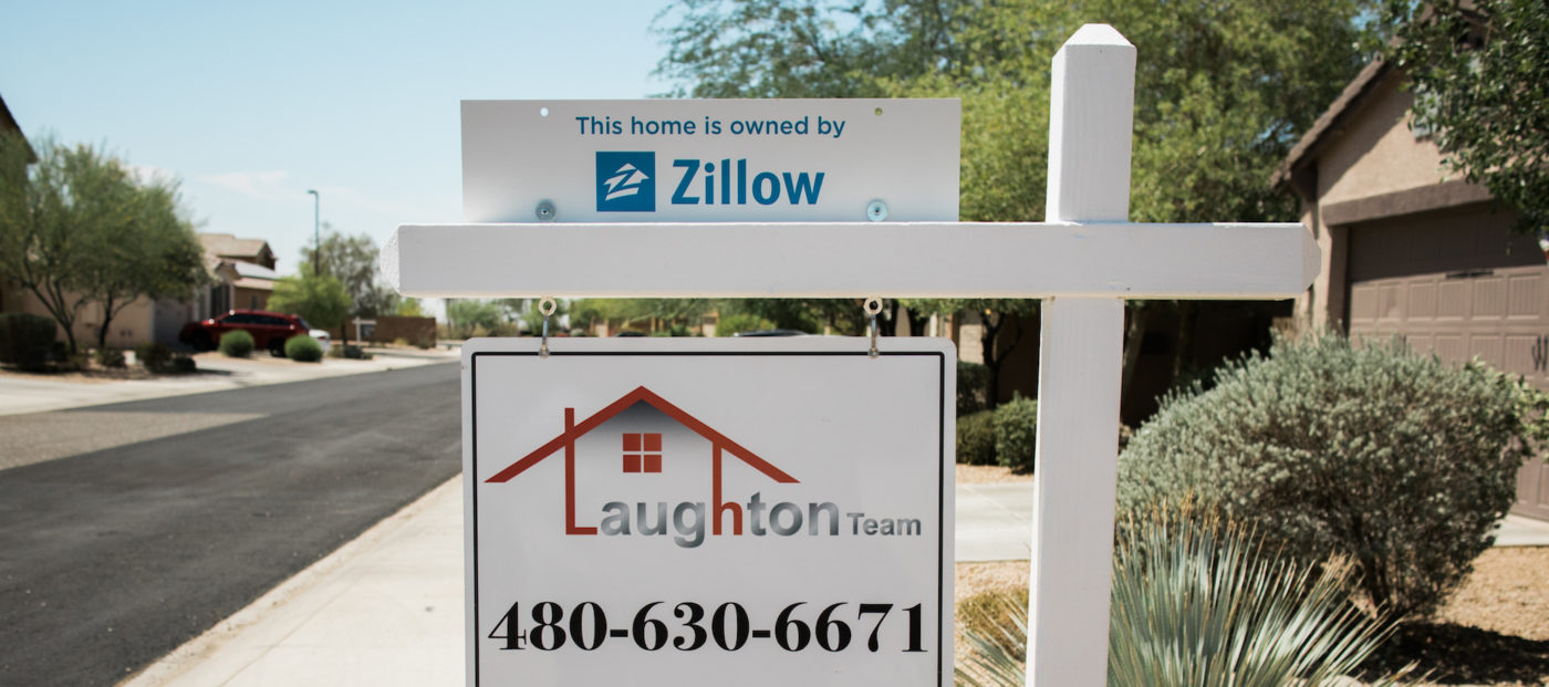 Zillow is showing its own listings first for some users