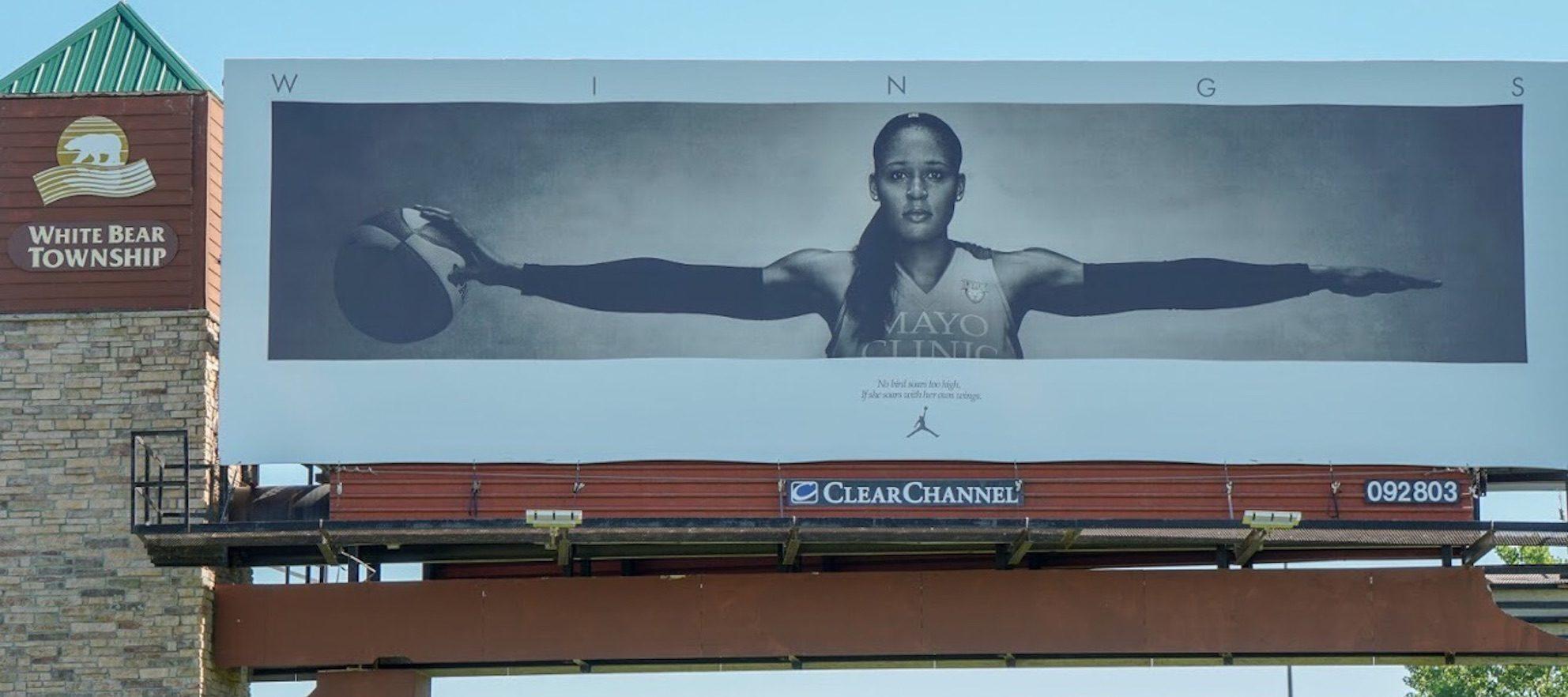 Kris Lindahl's billboards are making headlines again