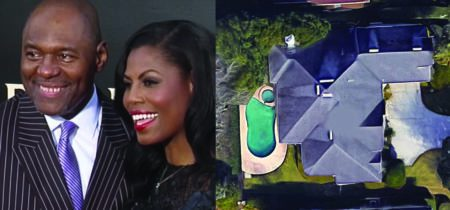 Omarosa's husband sued by neighbors over moldy roof