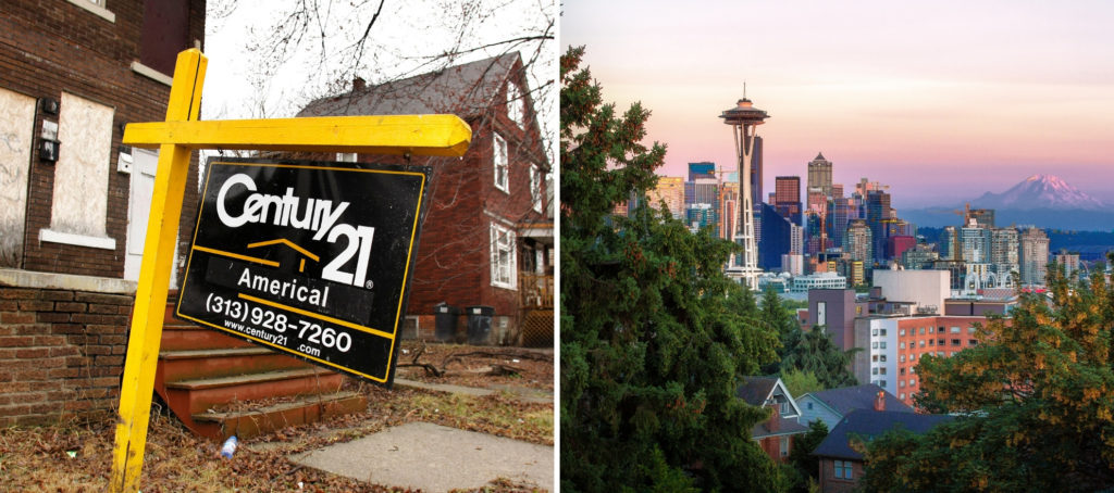 Seattle is more affordable than Detroit? How's that even possible?