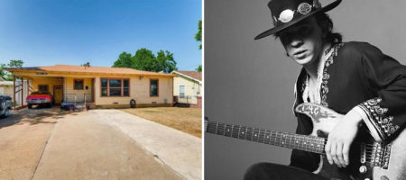Stevie Ray Vaughan's childhood home sells for less than $160,000