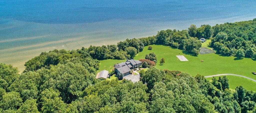 Buy Tom Clancy's majestic waterfront estate for $6.2M