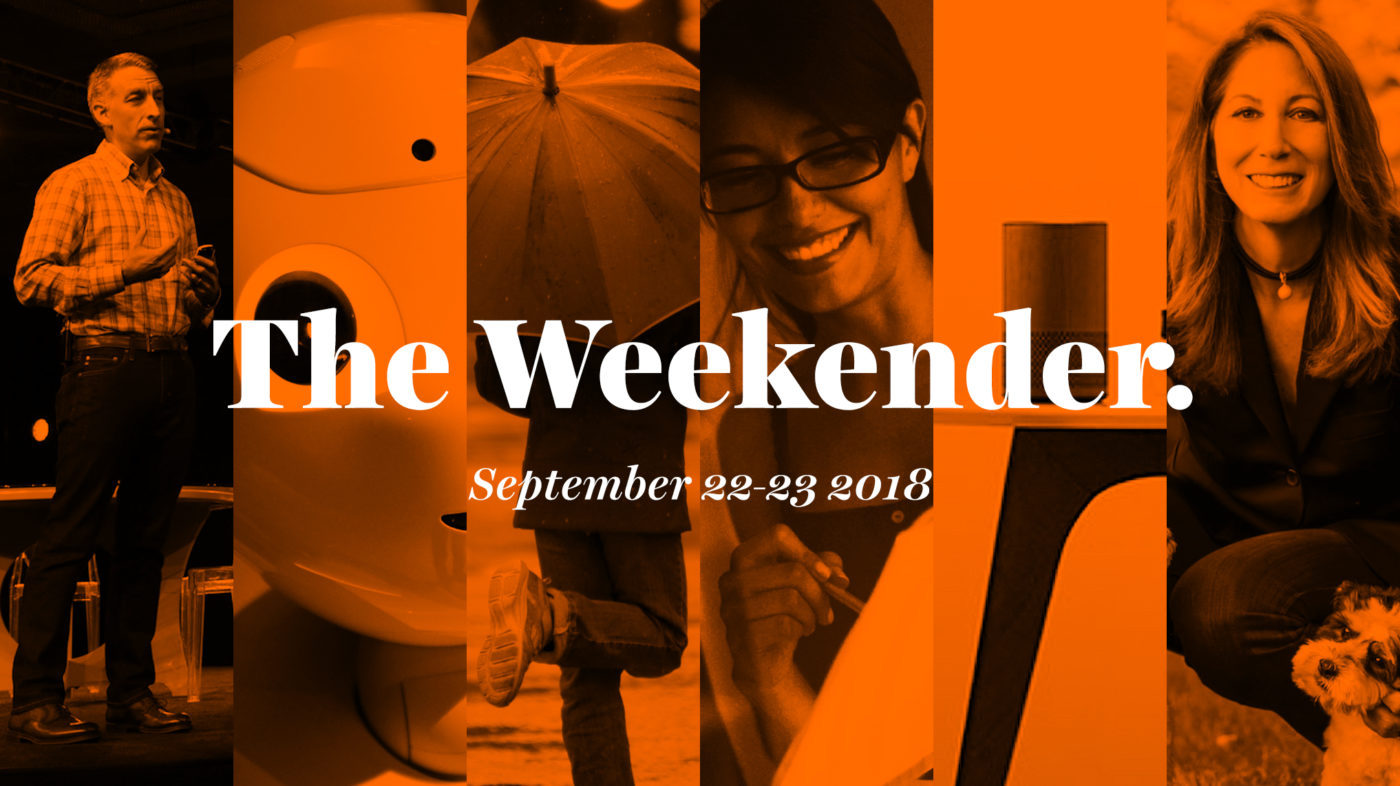 The Inman Weekender, September 22-23, 2018
