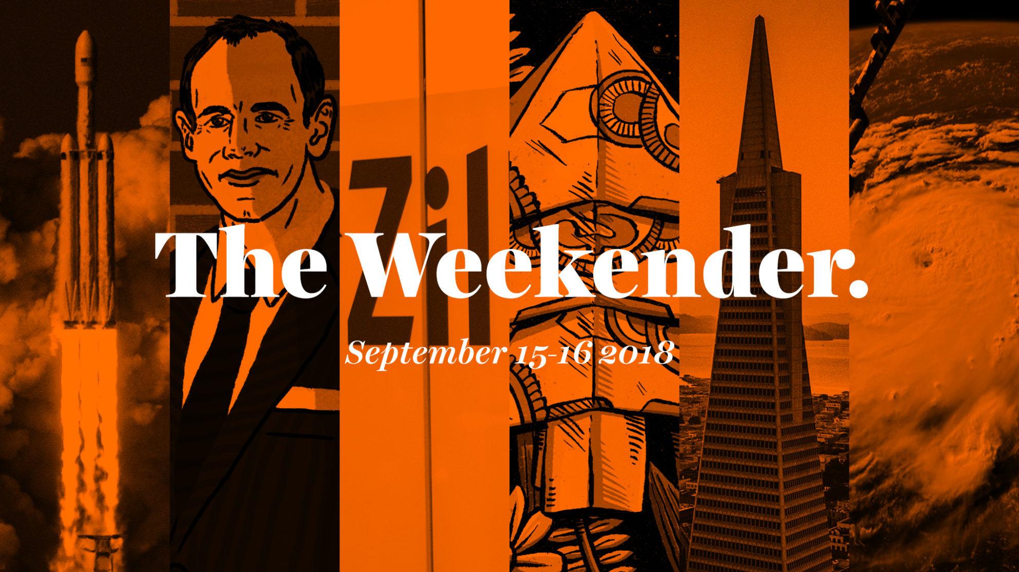 The Inman Weekender, September 15-16, 2018