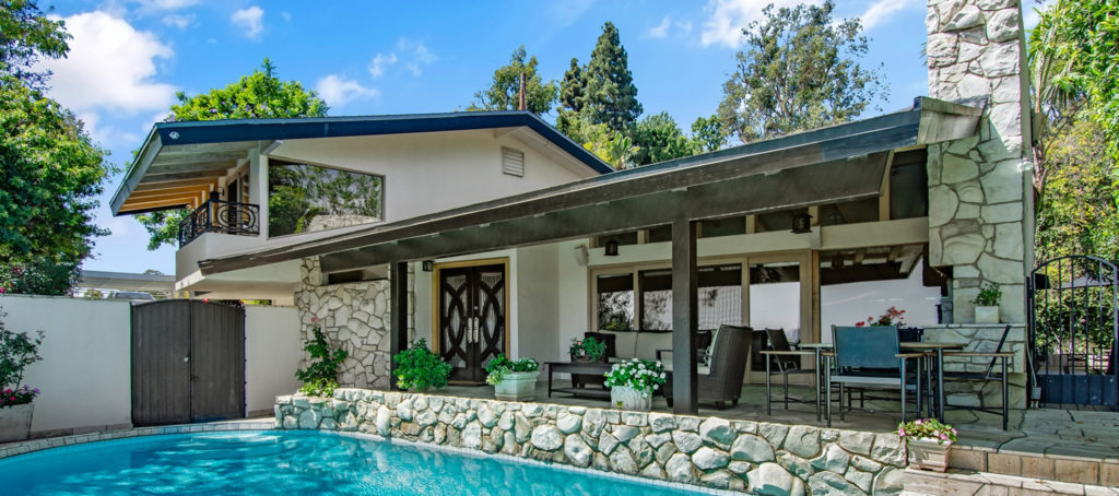 Can views sell this $3.249M home on John Barrymore's old Hollywood estate?