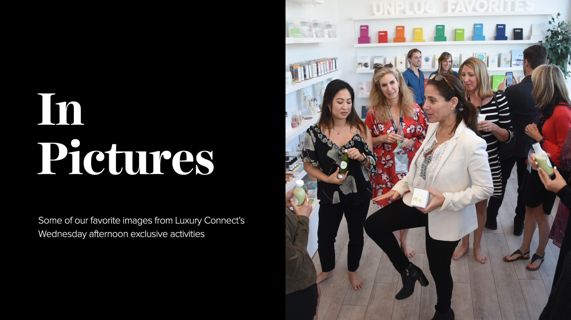 In Pictures: Luxury Connect's exclusive activities