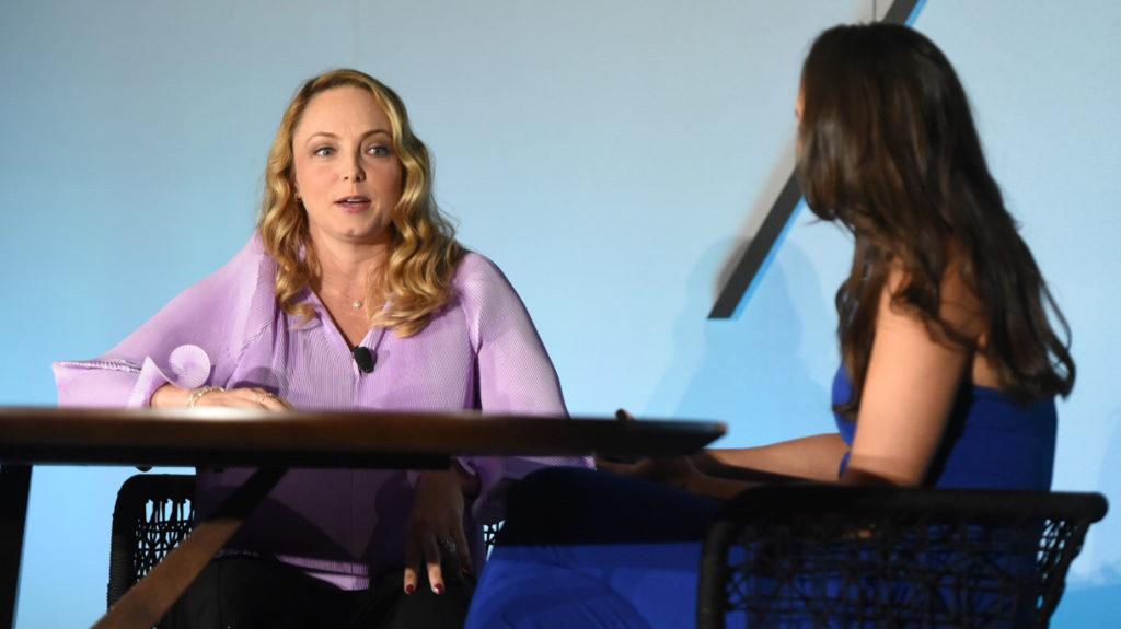 WATCH: Weinstein survivor Louisette Geiss shares her story at Luxury Connect